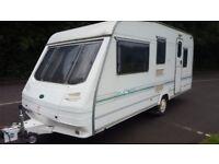 sterling europa 500/L 5 berth caravan