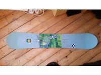 Girls ladies snowboard, Santa Cruz 151