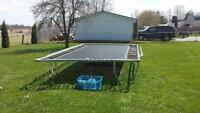 Large rectangle trampoline