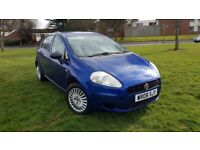 FIAT GRAND PUNTO 1.2 ACTIVE WARRANTED LOW MILEAGE CHEAP TO DRIVE AND INSURE EXCELLENT DRIVE.