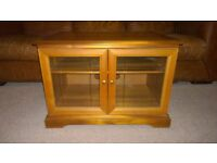 Solid Hardwood Tv Stand Unit Storage Cupboard. Free delivery
