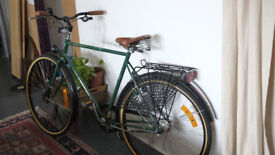 Skeppshult Natur classic bike with Brooks leather saddle. Hand built in Sweden.