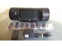 "Technika SP-108 - 7"" LCD Screen Speaker For iPod + Remote + Adapter"