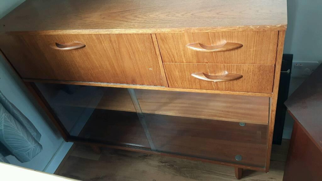 1960s bureau/display cabinet