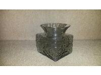 Dartington Crystal 'Polar' Vase