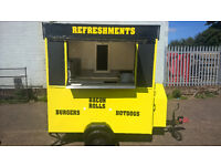 Fully Refurbished Ready to Work Catering Trailer