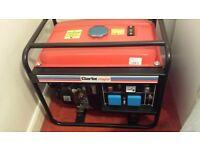 Brand new 7BHP Clarke Genorator