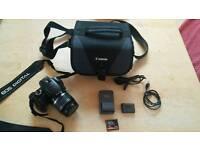 Canon EOS 400D + 18-55mm lens
