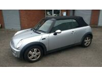 mini one 1.6 convertible 2005 55 plate requires clutch