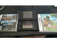 Nintendo DS lite + 2 games