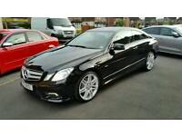 Mercedes Coupe E220 Amg Sport