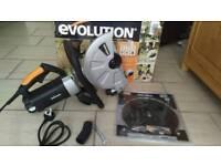 "Evolution 305mm 12"" Concrete Saw"