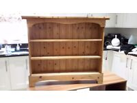 Pine DVD Cabinet or Bok shelf