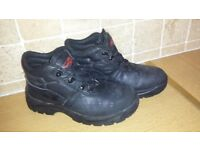 STEEL TOE CAP WORK TRAINERS SIZE 8 £5 .. BOOTS SIZE 6 £3