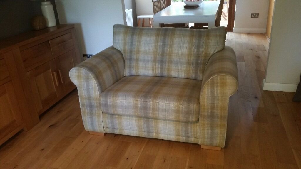 Next sofa and snuggle chair for sale 6 months old in for Snuggle sofa