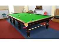 12x6 full size snooker table really tidy