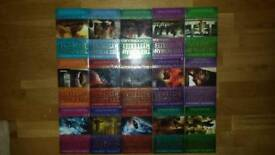 Full box set of 15 Roman Mysteries by Caroline Lawrence.