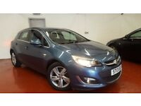 2013 Vauxhall Astra 2.0 CDTi SRi Diesel Automatic 5dr FSH, 1 OWNER AUTO. not golf leon megane a3 118
