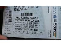 Professor Brian Cox 2 tickets AECC