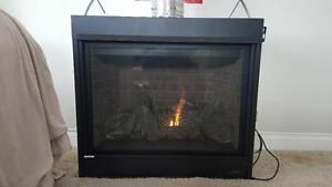 35'' Gas fireplace pre season sale