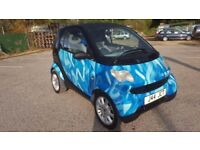 Smart 0.6 petrol, New MOT, FSH