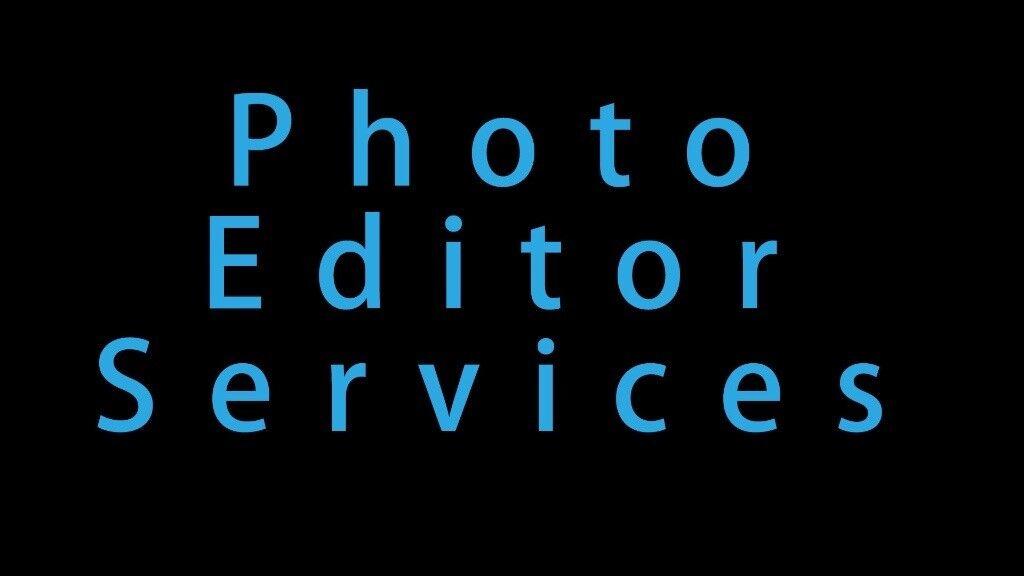 Photo Editor Services