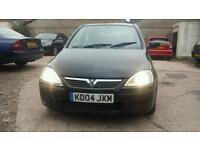Vauxhall corsa 2004 1.2 petrol start and drive good