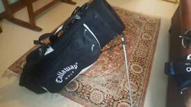 Golf carry/stand bag