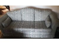 John Lewis sofa and two chairs