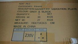 Unused vibration plate £120