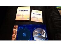 Star Wars - The Complete Saga (Blu-ray, 2011, 9-Disc Set, Box Set)