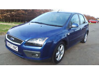 2007 57 FORD FOCUS 1.6 ZETEC MOT 11/2017 PART EX WELCOME DELIVERY ANYWHERE IN UK
