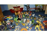 Toy Animal and dinosaur figures and play sets