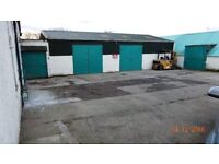 STEEL CONTAINERS/UNIT storage/workshops TO RENT (just of Edinburgh city bypass)