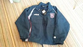 New Ipswich Town Football Club tracksuit top age 11/12