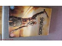 sparticus - gods of the areana collection dvds