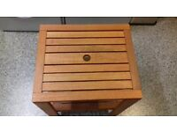 Small Wooden Garden Table, never been used.
