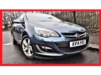(AUTO -37000 Miles)- 2014 Vauxhall Astra 1.6 i VVT SRi Automatic ---Low Mileage---Part Exchange OK
