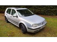 Vw golf 1.6 sr spares or repair