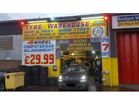 employee needed/TYRES FITTER NEEDED PLEASE CONTACT ,,NO EXPERIANCE NO PROBLEM
