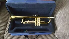 Almost new Trumpet and case. John Packer Trumpet model JP051
