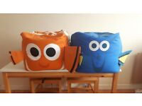 2 LARGE BEANBAG CUBES! nemo & dory. NEED GONE TODAY!