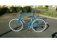 Classic town bicycle - vintage bike
