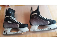 Mission (Bauer) Pure L3 Ice Hockey Skates - Size 9E 9.5UK - fit and spec similar to Supreme 180