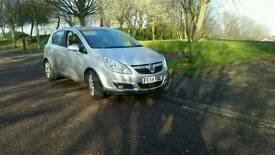 2008 Vauxhall Corsa 1.3 cdti design 6 speed hpi clear top spec