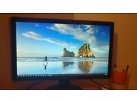 Two Monitor, PC Screens, BENQ GL2450 24inch - £70