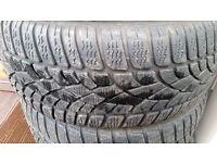 225 40 18 Dunlop Tyres Part worn (BMW Mercedes etc.)