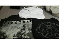 3 xxxl t-shirts original firetrap