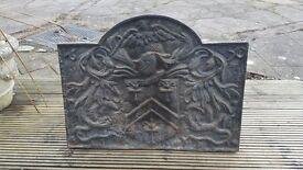 Cast Iron Fireplace Back Plate