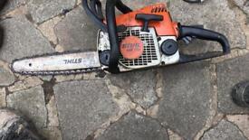 Stihl 170 chainsaw